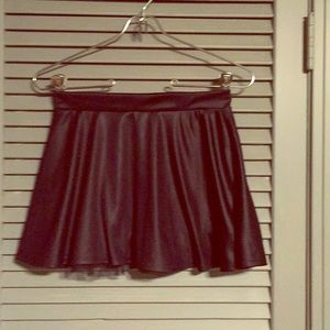 Other - Kids black skirt with mesh trim